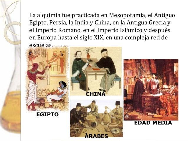 Historia de la quimica (ppt)