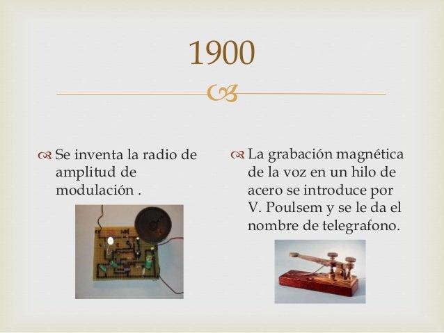Historia de la radio for Cuando se creo la arquitectura