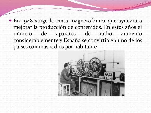  En los años cincuenta se dieron grandes mejoras que se  tradujeron en la generalización del uso del transistor. Normalme...