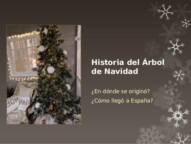 Historia del Árbol de Navidad ¿En dónde se originó? ¿Cómo llegó a España?