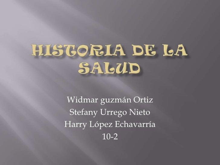 Widmar guzmán Ortiz Stefany Urrego NietoHarry López Echavarría         10-2