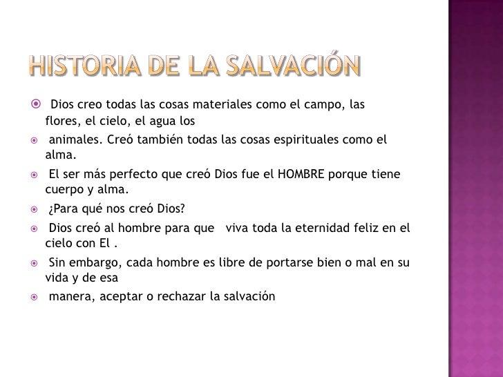 Historia de la salvacion de Dios  Slide 3