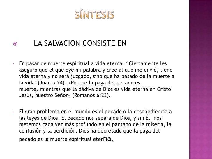 Historia de la salvacion de Dios