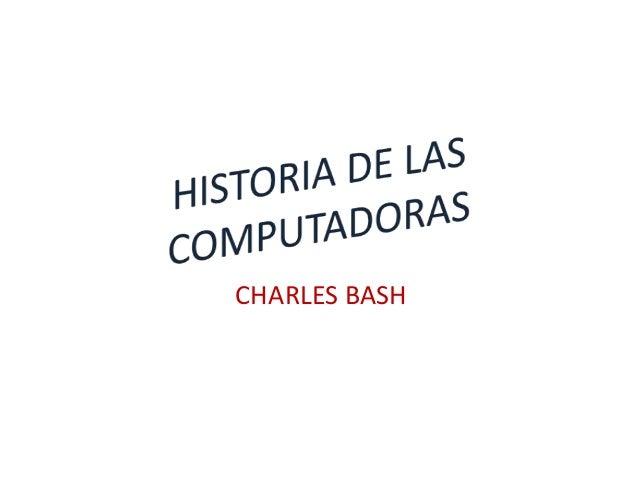 CHARLES BASH