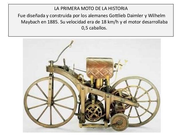 Historia de las motos Slide 2
