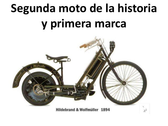 Historia de las motos Slide 3