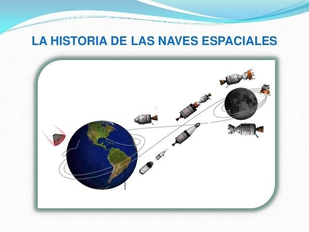 LA HISTORIA DE LAS NAVES ESPACIALES