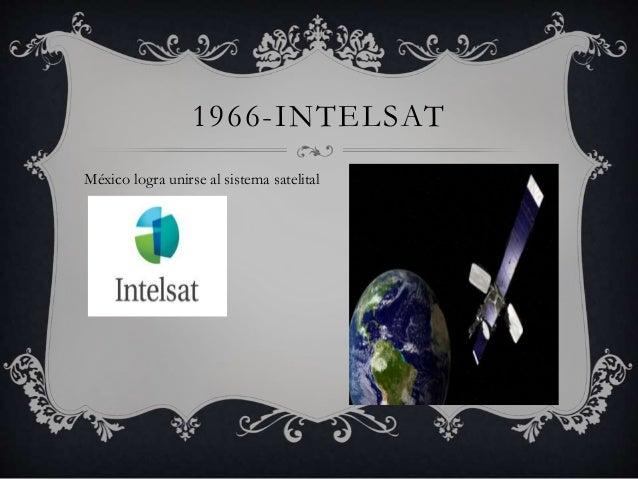 1966-INTELSAT  México logra unirse al sistema satelital