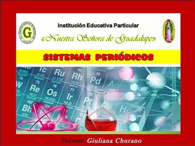 Historia de la tabla peridica historia de la tabla peridica docente giuliana churano urtaz Images