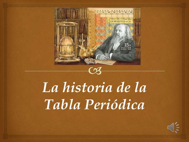Historia de la tabla periodica urtaz Choice Image