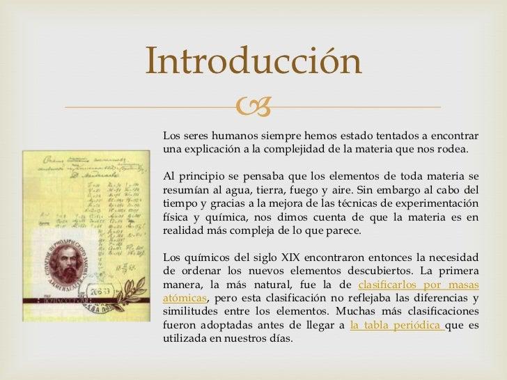 Historia de la tabla periodica la historia de latabla peridica 2 urtaz Images