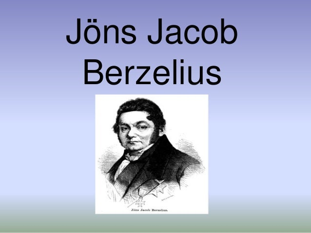 Historia de la tabla periodica jns jacob berzelius urtaz Images