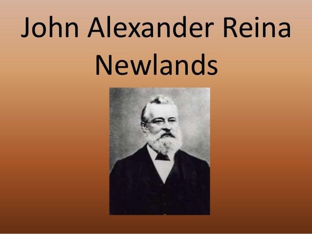 Historia de la tabla periodica 9 john alexander reina newlands urtaz Image collections