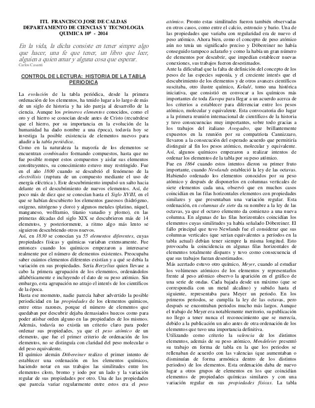 Historia de la tabla periodica resumen urtaz Image collections