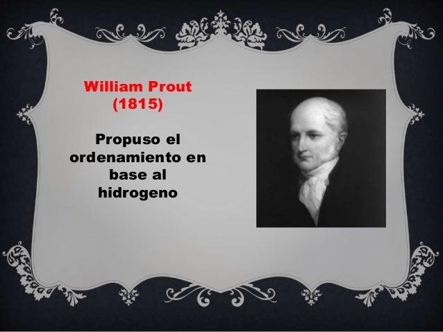 Historia de la tabla periodica cielo william prout 1815 propuso el ordenamiento en base al hidrogeno 5 urtaz Image collections