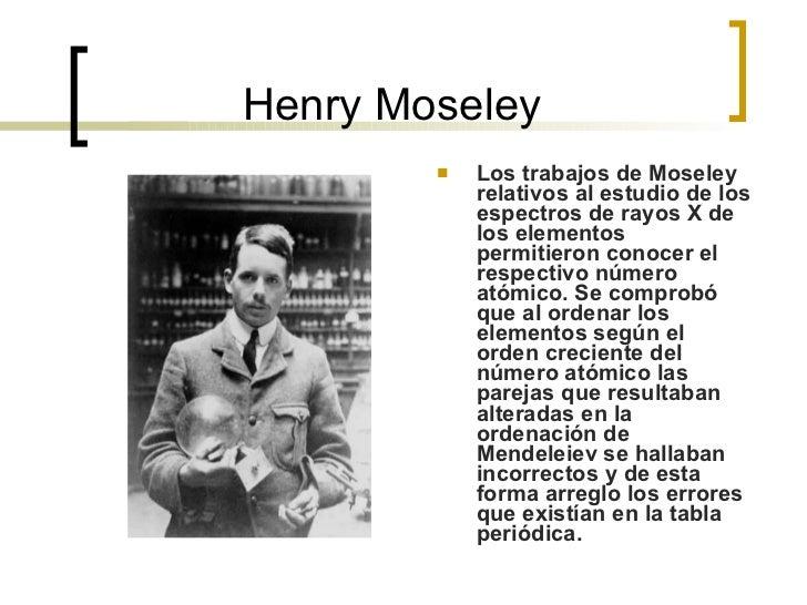 Historia de la tabla 14 henry moseley urtaz Image collections