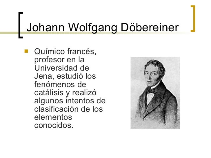 Historia de la tabla johann wolfgang dbereiner urtaz Image collections
