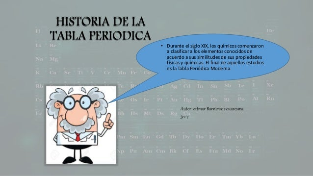 Historia de la tabla periodica periodica historia de la tabla periodica durante el siglo xix los qumicos comenzaron a clasificar urtaz Images