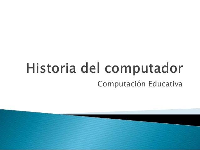 Computación Educativa