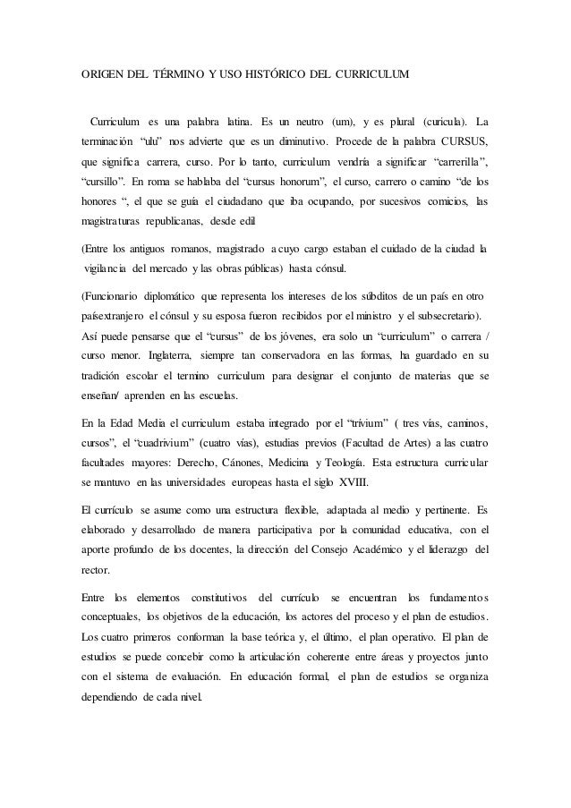 Historiadelcurriculum