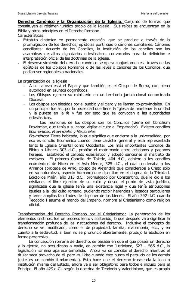 Matrimonio Derecho Romano Definicion : Historia del derecho