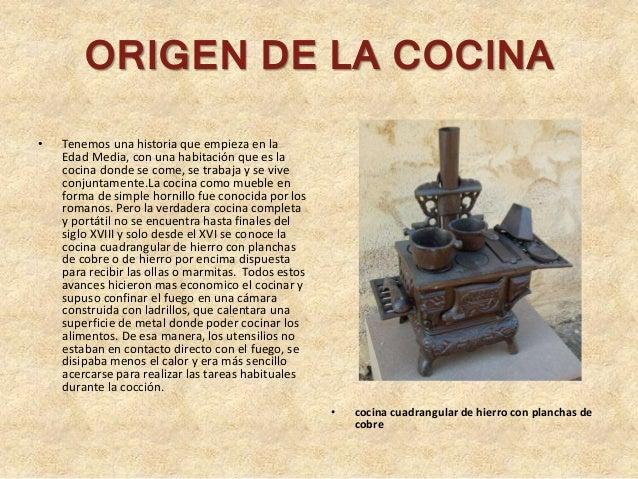 Historia del dise o en las cocinas for Programa de cocina de la 1