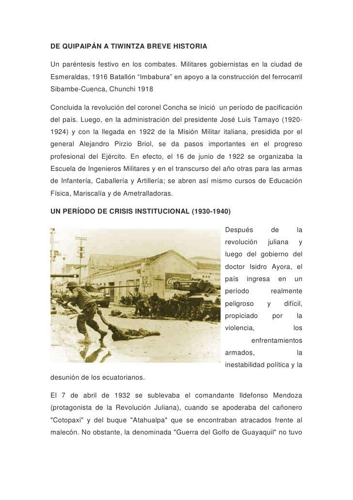 Historia del ejercito ecuatoriano Slide 2