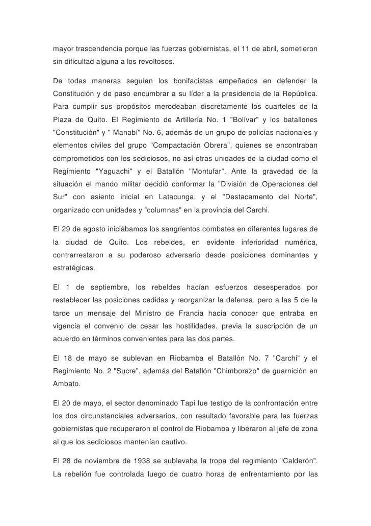 Historia del ejercito ecuatoriano Slide 3