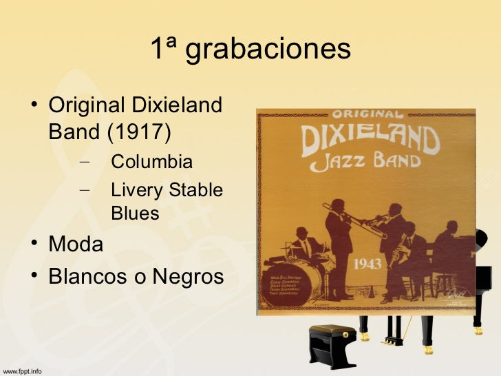 a comparison of the original dixieland jazz band and king olivers creole jazz band Oliver's presence in chicago served as both an anchor and a magnet for other new orleans musicians, and during the 1920's he led some of the most celebrated bands in jazz history original dixieland jazz band, 1916 photo hogan jazz archives chicago was also the destination for many of the white jazz musicians.