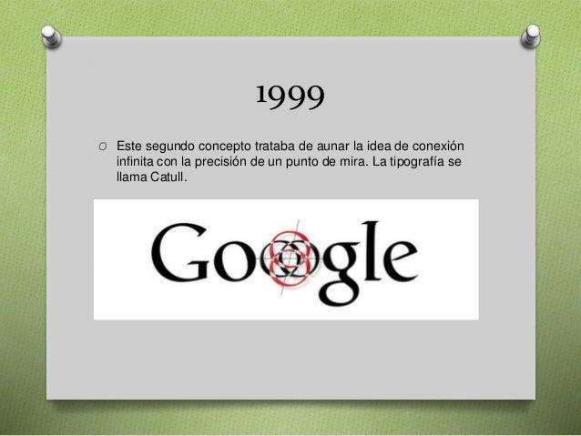 1999 O Este segundo concepto trataba de aunar la idea de conexión infinita con la precisión de un punto de mira. La tipogr...