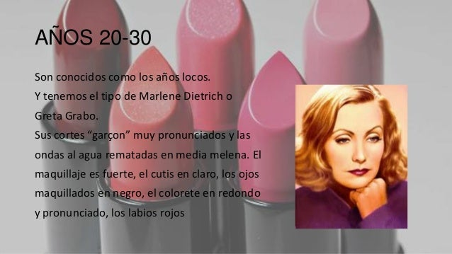 historia del maquillaje de los años 20