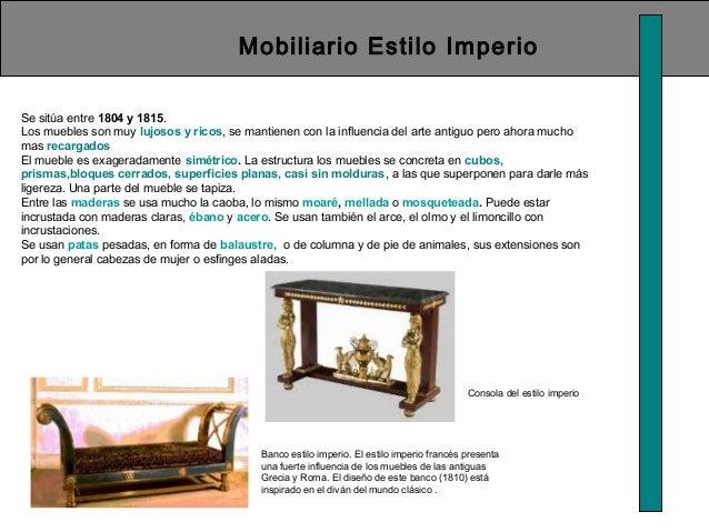 Historia del la silla for Mobiliario en ingles