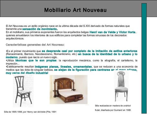 Historia del la silla for Caracteristicas del mobiliario