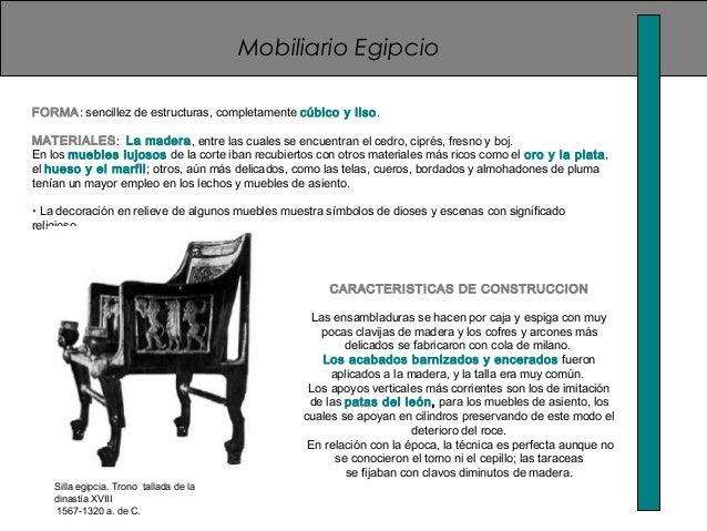 Historia del la silla - Estilos de mobiliario ...
