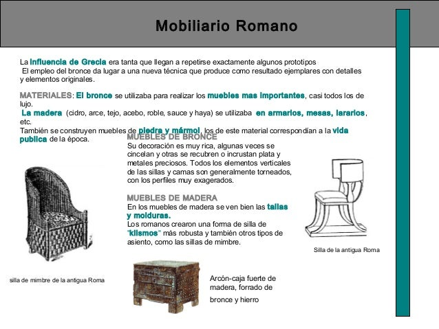 Historia del mueble.historia la silla