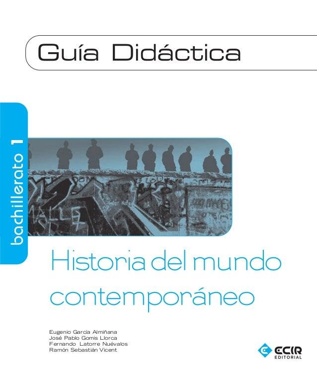 BGXX5314_frontis    16/9/08   07:52   Página 3                    Guía Didáctica   bachillerato 1                      His...