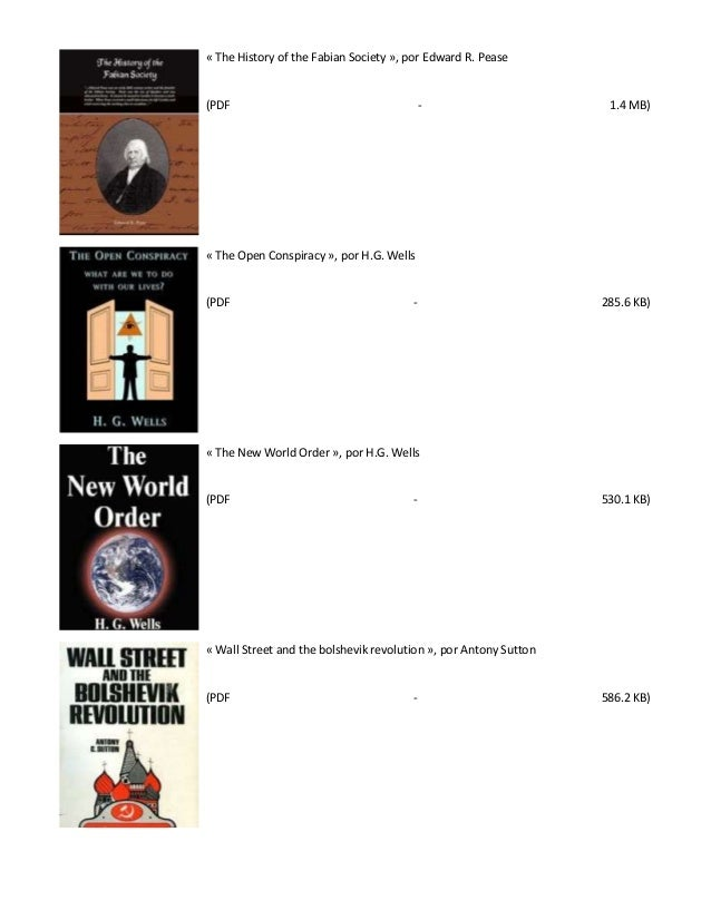 the new world order hg wells pdf