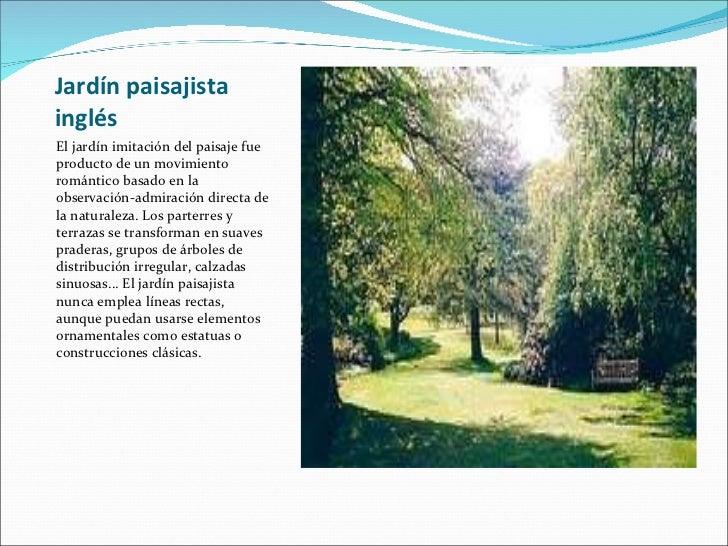 Historia de los jardines for Los jardines del califa
