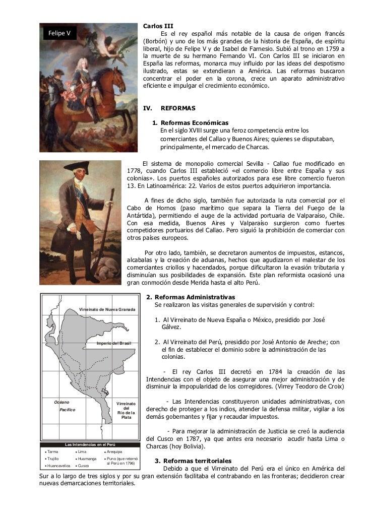 Carlos III   Felipe V                                                         Es el rey español más notable de la causa de...