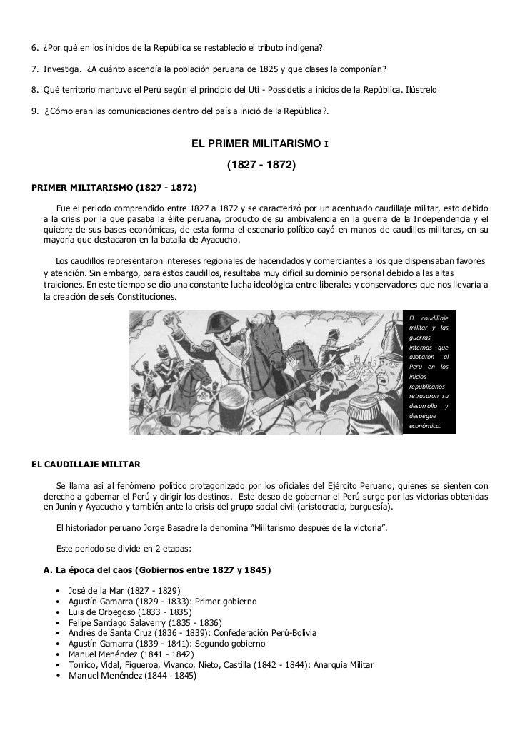 Historia del perú 3º