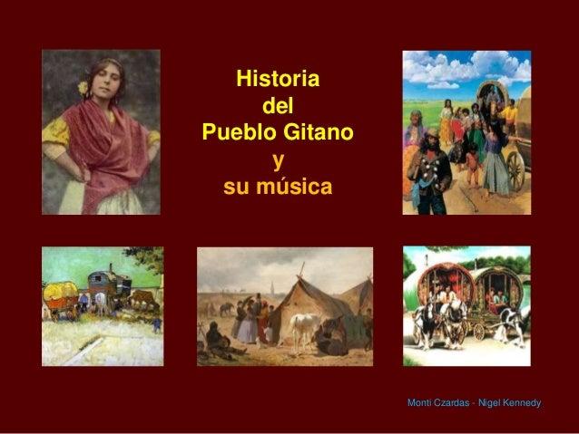 Historia del Pueblo Gitano y su música  Monti Czardas - Nigel Kennedy