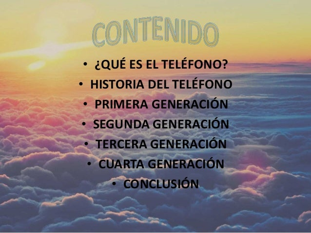 Historia del teléfono Slide 2