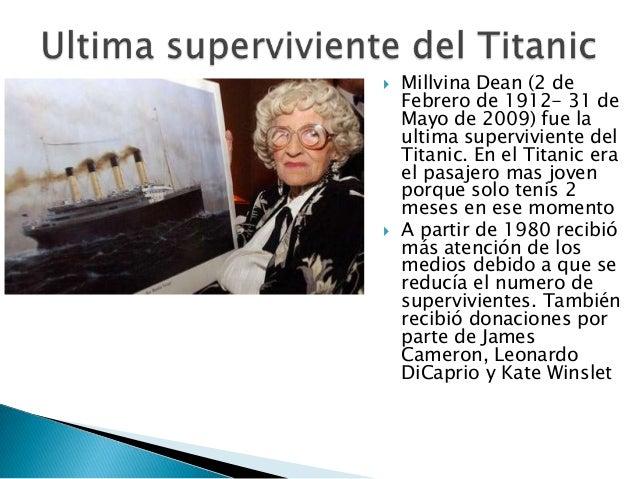 Historia del Titanic Leonardo Dicaprio