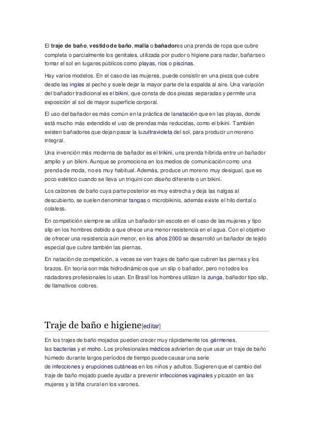 Traje De Historia Del Baño lJTFK1c