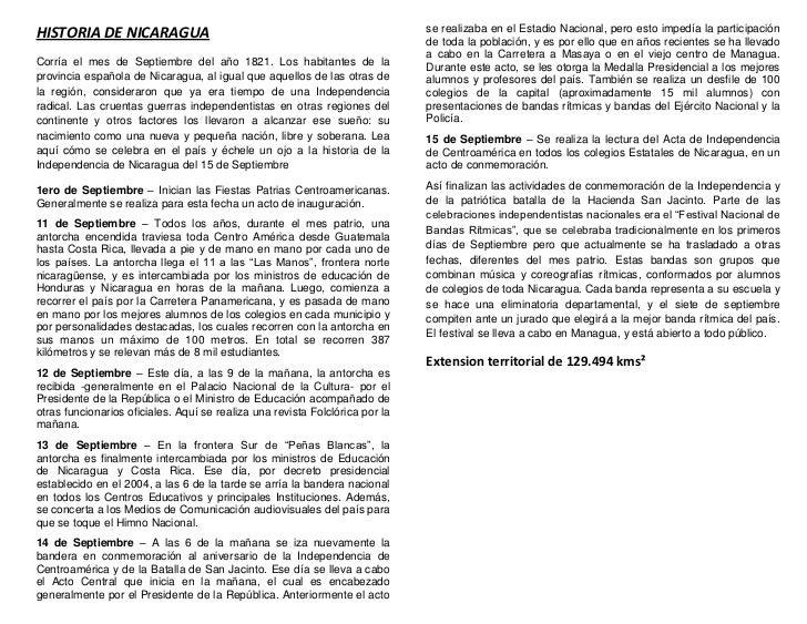 HISTORIA DE NICARAGUA                                                         se realizaba en el Estadio Nacional, pero es...