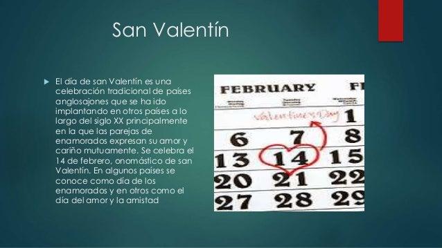 San Valentín ...