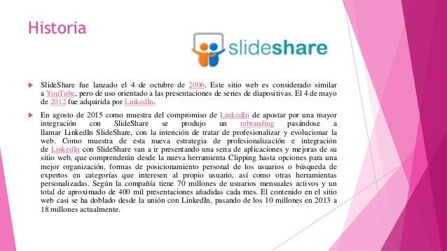 Historia de slide share Slide 2