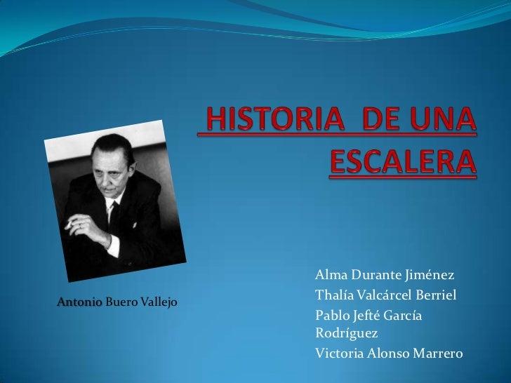 Alma Durante JiménezAntonio Buero Vallejo   Thalía Valcárcel Berriel                        Pablo Jefté García            ...