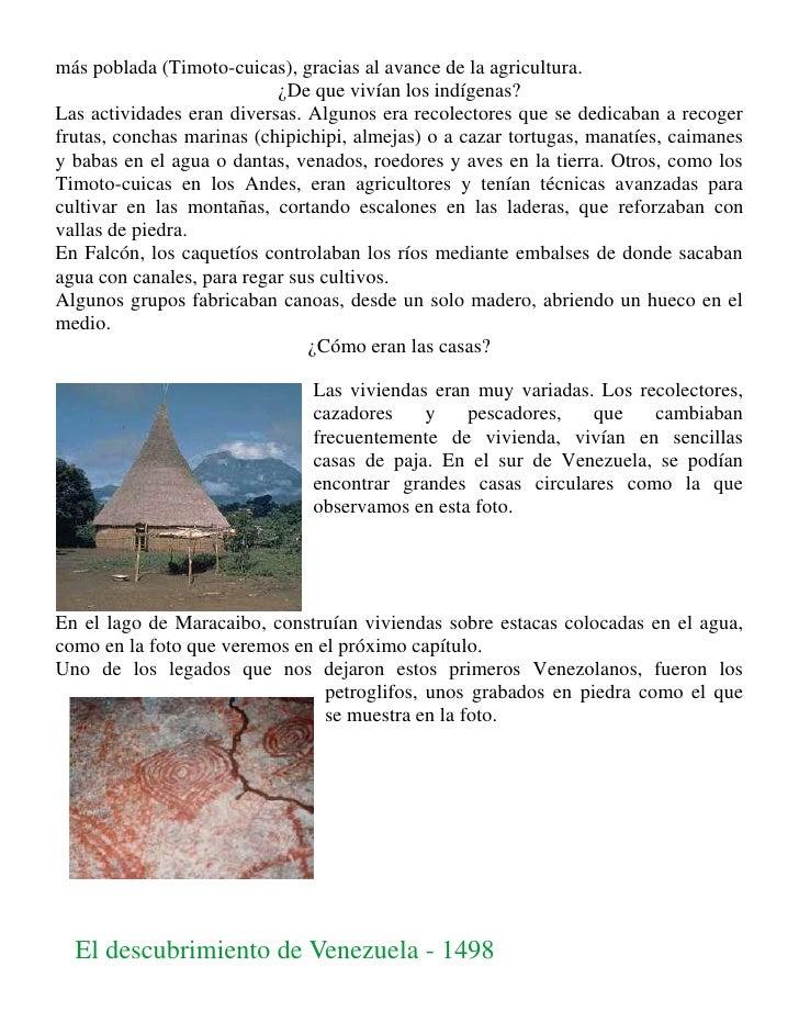 Historia de venezuela 1498  2011