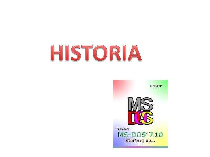 Tras variaciones surgeInicia en 1981 con la                            Microsoft MS-DOS 1.0compra por parte de            ...